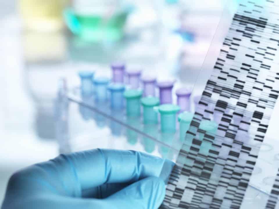 DNA PCR swab test